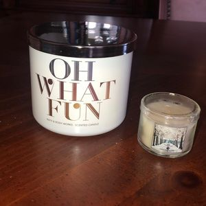 New Bath & Body Works candle + gift!